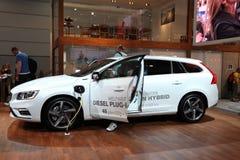 Volvo Diesel Plug In Hybrid Car Royalty Free Stock Image