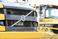 Volvo A30 Digger Earthmoving Machines Lizenzfreie Stockbilder
