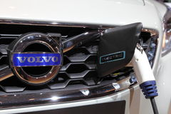 Volvo-elektrisches Auto am IAA Lizenzfreies Stockbild