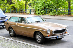 Volvo 1800ES. BERLIN, GERMANY - AUGUST 16, 2014: Retro vehicle Volvo 1800ES in the city street royalty free stock photos