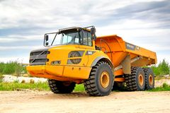 Volvo A40F Stock Afbeelding