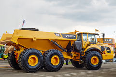 Volvo A40F articulated truck Stock Image