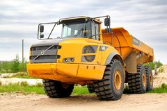 Volvo A40F Royalty Free Stock Photo