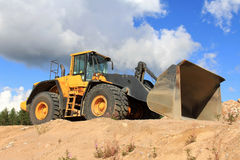Volvo 220F Wheel Loader stock images