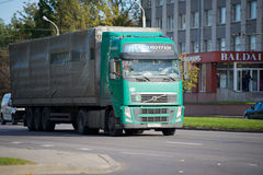 Volvo FH truck on the road Stock Photography