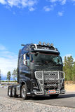 Volvo FH16 600 Truck, Vertical View Royalty Free Stock Photo