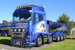 Volvo FH16 750 usypu ciężarówki Kung Fu panda Zdjęcia Royalty Free