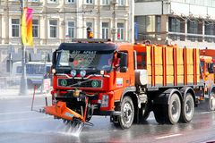 Volvo FM12 Stock Photo