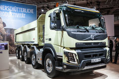 VOLVO FMX dump truck Royalty Free Stock Photo