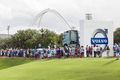 Volvo Golf  Pro Durban Country Club Royalty Free Stock Image