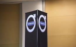 Volvo Jadący Firma obraz stock