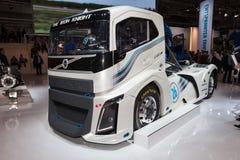 Volvo järnriddare Race Truck Arkivfoto