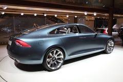 Volvo-Konzept-Auto Sie an IAA Lizenzfreies Stockfoto