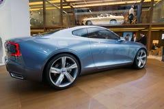 Volvo-Konzept Coupé-Auto Lizenzfreie Stockbilder
