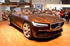 Volvo-Konzept-Zustand Genf 2014 Stockfotografie
