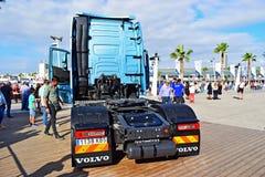 Volvo Lorry Cab Alicante 2017 fotografia de stock