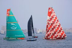 Volvo Ocean Race 2011 - 2012 Stock Photo