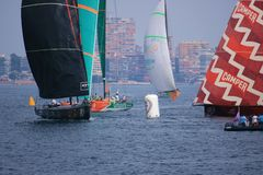 Volvo Ocean Race 2011 - 2012 Stock Photography