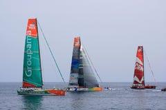 Volvo Ocean Race 2011 - 2012 Stock Image