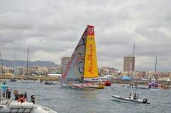 Volvo Ocean Race Abu Dhabi Ocean Racing Royalty Free Stock Image
