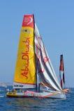 Volvo Ocean Race 2014 - 2015 Abu Dhabi Royalty Free Stock Photos