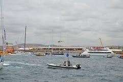 Volvo Ocean Race Mayhem Stock Photos