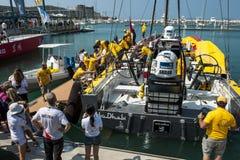 Volvo Ocean Race 2014-2015 in Sanya Royalty Free Stock Images