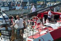 Volvo Ocean Race 2014-2015 in Sanya Stock Photography