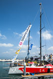 Volvo Ocean Race 2014-2015 in Sanya Royalty Free Stock Photography