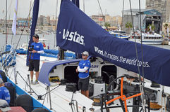 Volvo Ocean Race Skipper - Sailing Crew Stock Photography