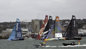 Volvo Ocean Race Start - Auckland Royalty Free Stock Photos