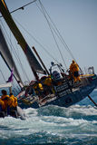 Volvo Ocean Race Start New Port Royalty Free Stock Photos