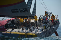 Volvo Ocean Race Start New Port Royalty Free Stock Photography