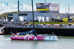 Volvo Ocean Race Stopover The Hague, Netherlands Royalty Free Stock Image