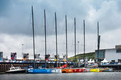 Volvo Ocean Race Stopover The Hague, Netherlands Royalty Free Stock Photos