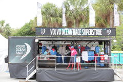 Volvo Ocean Race Superstore Stock Image