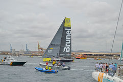 Volvo Ocean Race Team Brunel Stock Photos