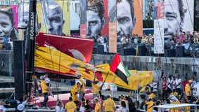 Volvo Ocean Race 2014 stock photography