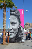 Volvo Ocean Race Village Royalty Free Stock Images