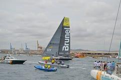 Volvo oceanu rasy drużyna Brunel Zdjęcia Stock