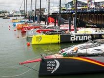 Volvo oceanu rasy przystanek Haga, holandie zdjęcia stock