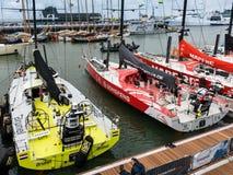 Volvo oceanu rasy przystanek Haga, holandie fotografia stock