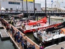Volvo oceanu rasy przystanek Haga, holandie obrazy stock