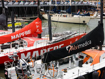 Volvo oceanu rasy przystanek Haga, holandie obraz stock