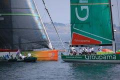 Volvo-Ozean-Rennen 2011 - 2012 Stockfotos