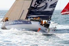 Volvo-Ozean-Rennen Team Clean Seas Stockfotos