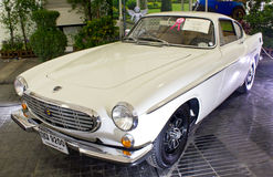 Volvo P1800 On Display. PATHUMTHANI, THAILAND - JUNE 22 : Volvo P1800 Vintage Car Made in 1970 By Sweden On Display At The 37th Vintage Car Concours on June 22 Stock Images