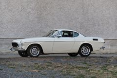 Volvo P1800. The Volvo P1800 is a 2+2, front-engine, rear-drive sports car manufactured and marketed by Volvo Cars between 1961-1973. Originally a coupe 1961 stock photos