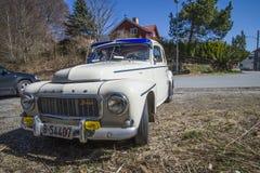 1963 Volvo pv b18 544, beeld 4 Royalty-vrije Stock Foto's