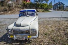 1963 Volvo pv b18 544, beeld 6 Royalty-vrije Stock Foto